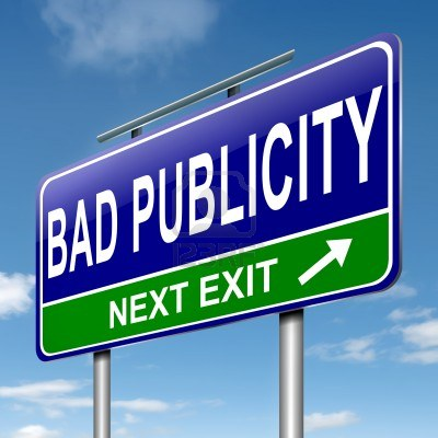 examples of the company suffering from bad publicity 2018-08-22 as the saying goes, there's no such thing as bad publicity the reasoning is that even if people are trying to raise a big stink about how some work is.